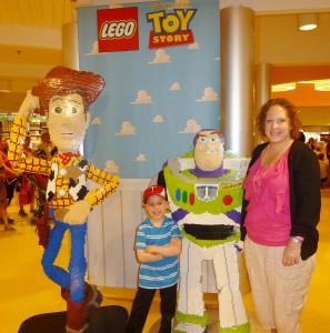 Buzz & Woody made of Legos