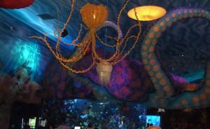 Bar area at T-Rex