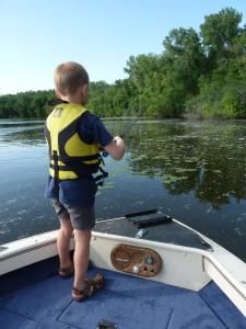 My fishing boy!