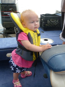 We have since gotten her a different life jacket. This one wasn't too comfy.
