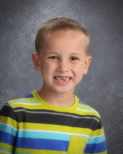 Adam's first grade photo