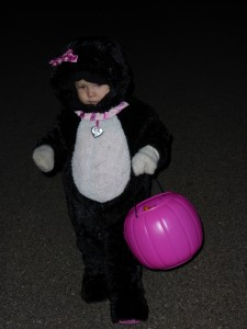 Allison trick or treating