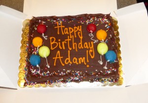 His AirMaxx birthday cake
