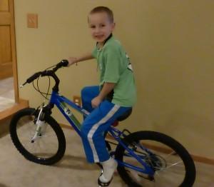 New, bigger bike!