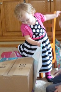 Opening presents!