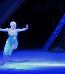 Elsa during Let it Go