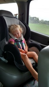 Miss Allison exhausted. They played hard!