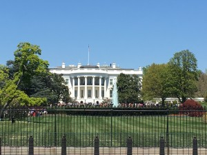 White House. We didn't see the Pres