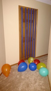 I decorated his room for his birthday