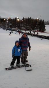 My snowboarding dudes