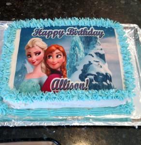 I made the cake!