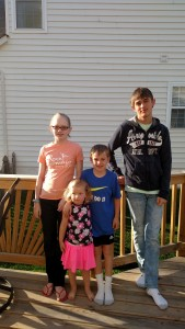 Cousins Ellie, Allison, Adam, & Brandon